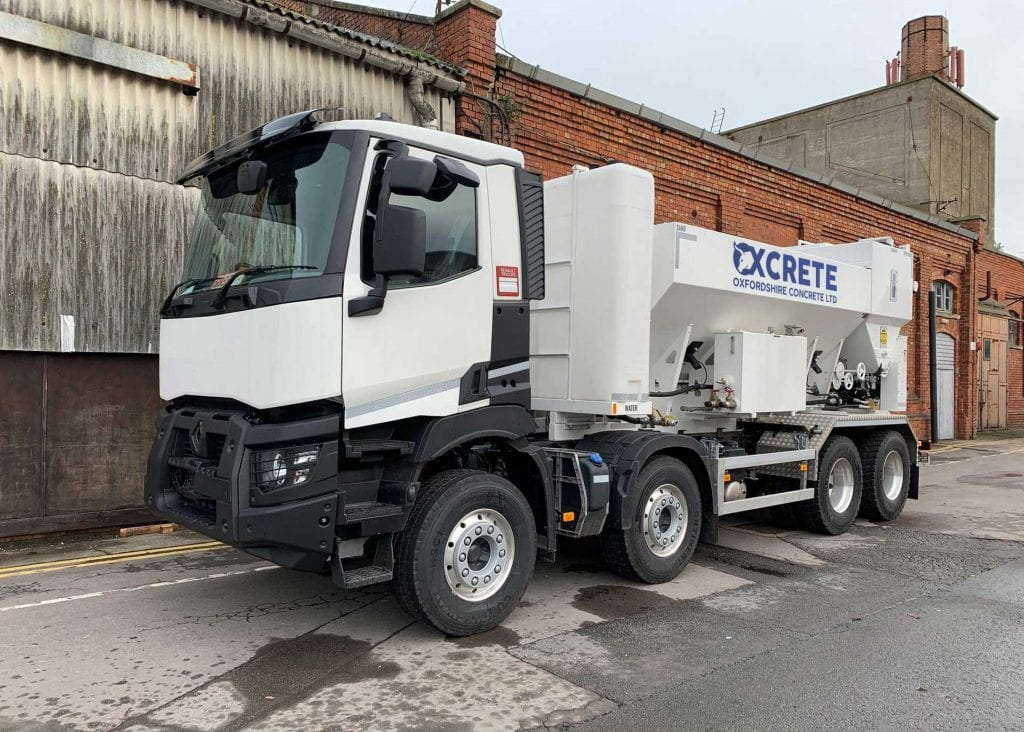 concrete delivery Headington